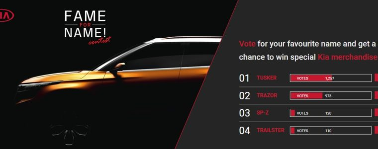 KIA Motors: вибрати назву для нового кросовера можете і ви