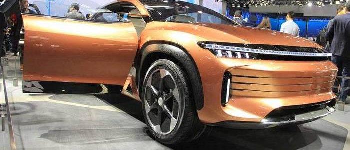 Exeed LX Concept 2018 – крос-купе від Chery