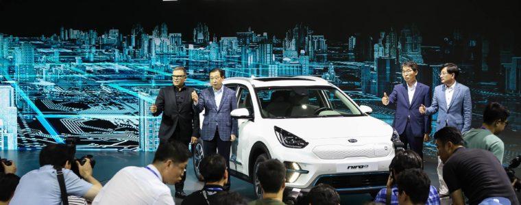 Kia розкрила подробиці електричного кросовера Niro EV