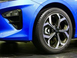 New Ceed wheel