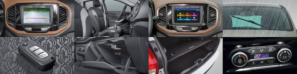 Lada xray Interior