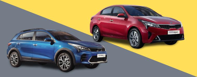 Новий Kia Rio Sedan та Kia Rio X-Line доступні до передзамовлення!
