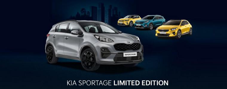 В Україні стартують предзамовлення на лімітовану версію Kia Sportage в комплектації «Limited Edition» в чорному пакеті оздоблення.