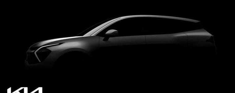 Перші тізерні зображення нового Kia Sportage!